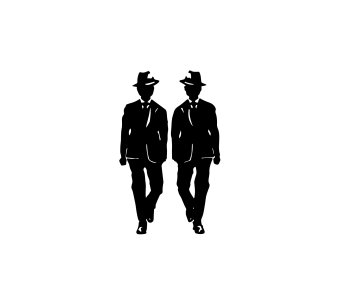 symbol series #3—men in suits