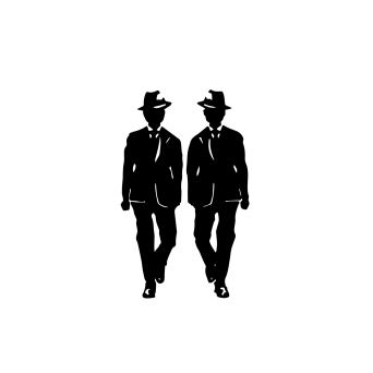 symbol series #3—men in suits
